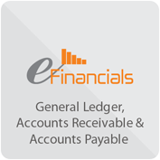eFinancials- General Ledger, Accounts Receivable & Accounts Payable